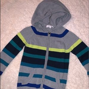 Hurley zip up knit sweater. EUC!